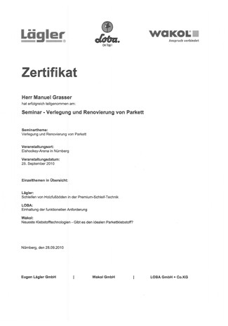Zertifikat-Parkett-Kl-103